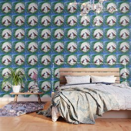 Quails and Serenity Wallpaper