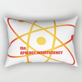 the Apology Insufficiency - Season 4 Episode 7 - the BB Theory - Sitcom TV Show Rectangular Pillow