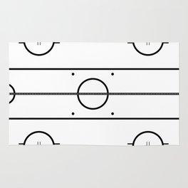 Ice Hockey Rink Rug