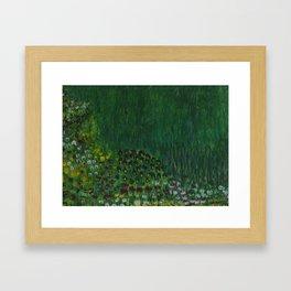 flower field 2 Framed Art Print