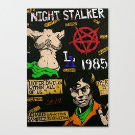 SK - 1 Night Stalker Canvas Print