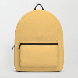 Hibiscus Solid Yellow Sunshine Accent Backpack