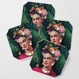 Frida Kahlo :: World Women's Day Coaster
