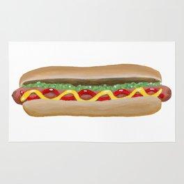 Hot Dog Rug
