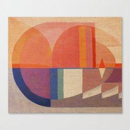 Sailing in Splendid Sunrise Canvas Print