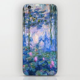 Water Lilies Monet iPhone Skin