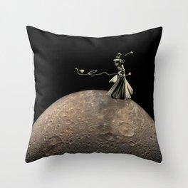 Samia Comet Throw Pillow