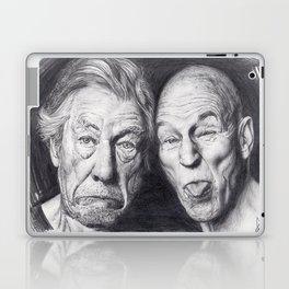 Patrick Stewart & Ian McKellen Laptop & iPad Skin