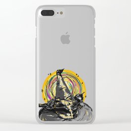 Feels Familiar Clear iPhone Case