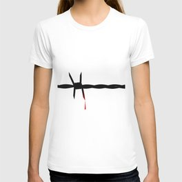 Blooded Barbed Wire T-shirt