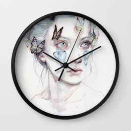 love and sacrifice Wall Clock
