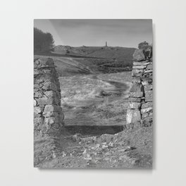 Pathway To A Memorial Metal Print