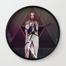 Princess Zelda Wall Clock
