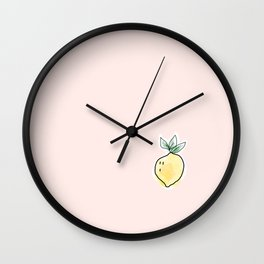 Squeeze the Day Wall Clock