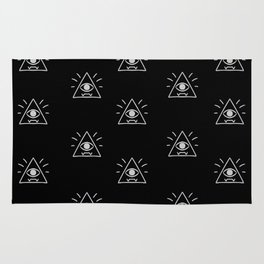Eye of Providence Pattern Rug