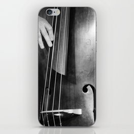 Jazz Bass Poster iPhone Skin