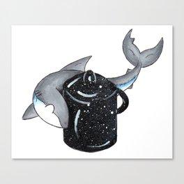 Circling the Lobster Pot Canvas Print