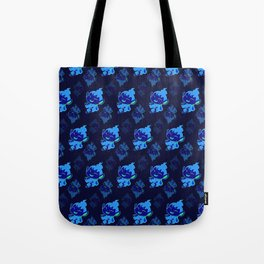 Chimchar Repeating Pattern Tote Bag