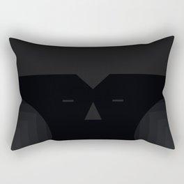 blackie the moon Rectangular Pillow