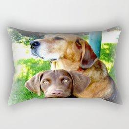 Ain't Nothing But A Hound Dog Rectangular Pillow