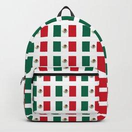 Flag of mexico 3 - mexico,mexico city,mexicano,mexicana,latine,peso,spain,Guadalajara,Monterrey Backpack