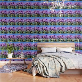 Sweet Rainbow Tropical Cactus #tropicalart #decor Wallpaper