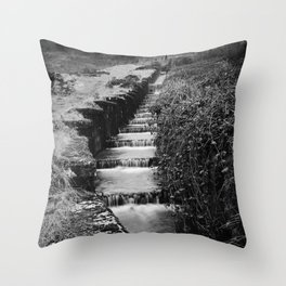 Blaen Bran, Cwmbran, South Wales, UK - 06 Throw Pillow