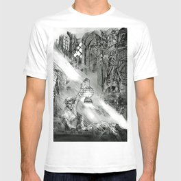 Frankestein - based on the wonderful work of Bernie Wrightson  T-shirt