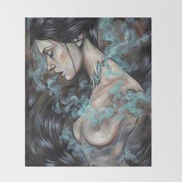 Smoked Throw Blanket