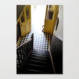 Vintage Stairs Canvas Print
