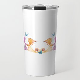 baby dragons and butterflies Travel Mug