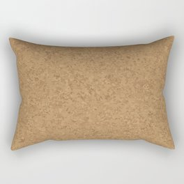 Cork Board Background Rectangular Pillow