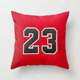 Michael 23 Jordan Chicago Bulls Throw Pillow