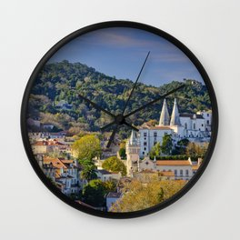 Sintra, evening light Wall Clock