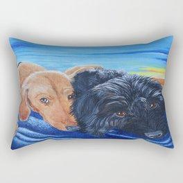 Doxies Rectangular Pillow