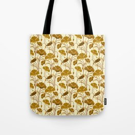 Sunfield Poppies Tote Bag