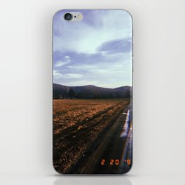 Back Roads iPhone Skin