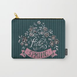 Hello Spring (2) - by Fanitsa Petrou Carry-All Pouch