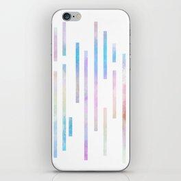 Minimalist Lines - Pastel iPhone Skin