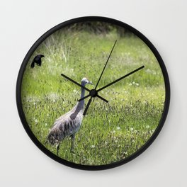 Unfazed Wall Clock