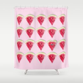 you're one in a melon Shower Curtain