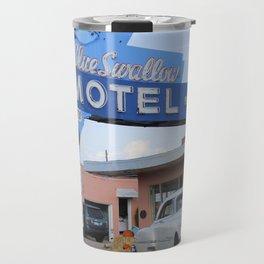 Route 66 - Blue Swallow Motel Travel Mug