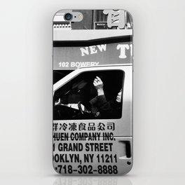 Smoking in Van  iPhone Skin