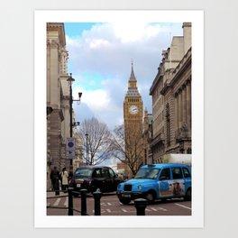 Big Ben - Colour Art Print