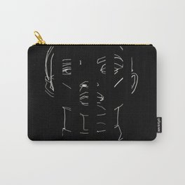 straight face Carry-All Pouch