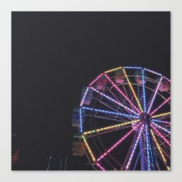 Iowa State Fair 2018 - Ferris Wheel Canvas Print
