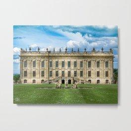 Chatsworth House Metal Print