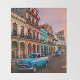 Colorful Havana Throw Blanket