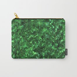 Abalone Shell | Paua Shell | Sea Shells | Patterns in Nature | Green Tint | Carry-All Pouch