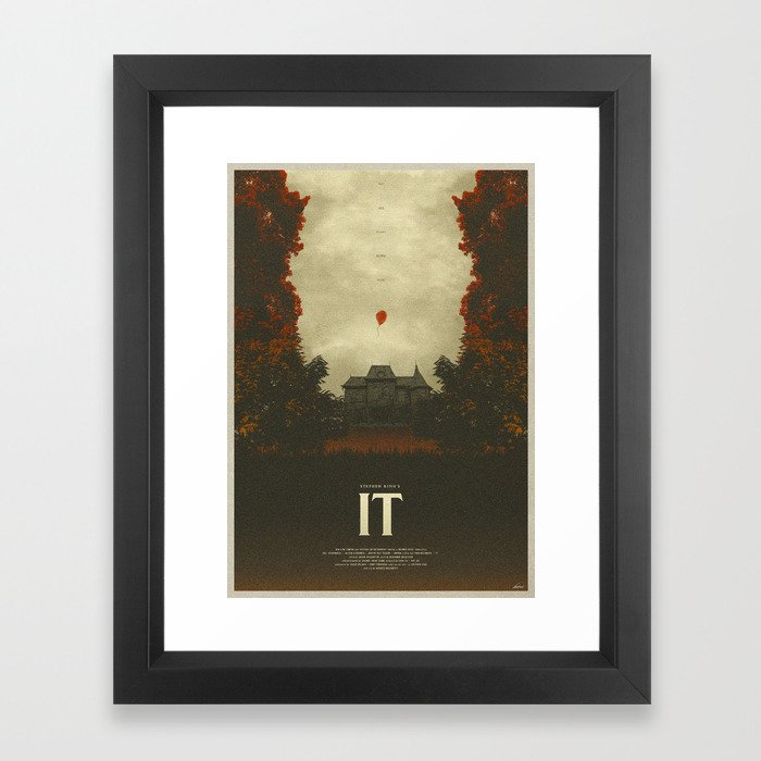 We All Float - It Framed Art Print